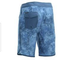 New HUK Fishing Performance 38 Mens Board Shorts Swim Blue C