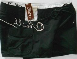 New ONeill Womens Board Shorts Size 3 Black - High Tide Boar