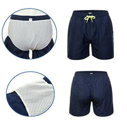 New Men's Quick Dry Boardshorts Swim Wear Beachsuit Pants Su