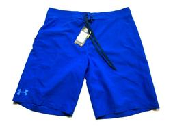 Under Armour New Mens Blue Swim Trunks Board Shorts Size 36