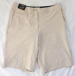 NEW Men's TRINITY HYBRID Board Shorts Quick Dry Khaki *FRE