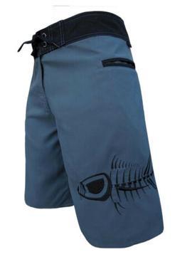 NEW Tormenter Mens Tuna Waterman 5 Pocket Boardshorts, Gray
