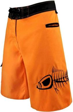 NEW Tormenter Mens Tuna Waterman 5 Pocket Boardshorts, Orang