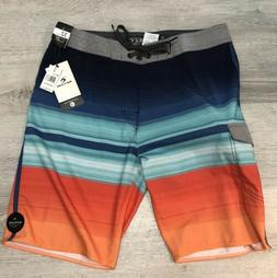 NEW Rip Curl Mirage Accelerate Blue Orange Boardshorts Board