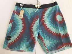 NEW RIP CURL  MIRAGE BOARDSHORTS SIZE 34  MID LEG 19""