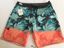 NEW RIP CURL  MIRAGE WATCHTOWER  BOARDSHORTS SIZE 34  MID LE