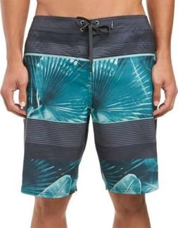 NEW!! O'Neill Mens Boardshorts Swim Shorts Palmz Size 32 Bla