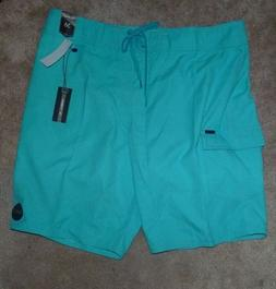 NEW O'NEILL Santa Cruz Teal Boardshorts Bathing Swim Suit 36