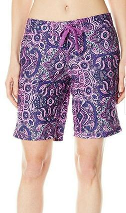New Kanu Surf Womens Board Shorts Bisma Purple Size 8