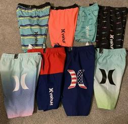 New Hurley Swim Shorts Trunks Board Short Boys Red Blue Gree