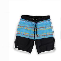 NEW Quiksilver swim trunks board shorts Rebuff 20 blue black