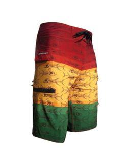 NEW w/ Tags Men's Tormenter Premium Board Shorts Rasta Size