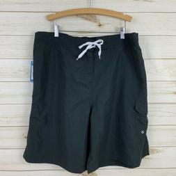 NEW Adoretex Women's Black Unlined Swim Board Shorts. Size 3