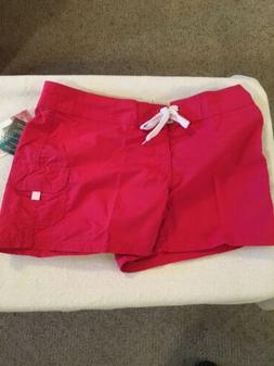 New Kanu Surf Women's Breeze Boardshorts Raspberry Size 8