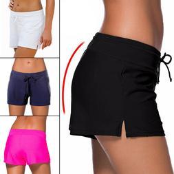NEW Womens Swim Shorts Tankini Bottom Bikini Sport Yoga Boar