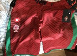 "NIKE Hurley Phantom PORTUGAL National Team 18"" Boardshorts S"