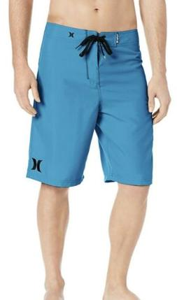 NWOT Hurley One and Only 22-Inch Blue Boardshort Swimwear Me