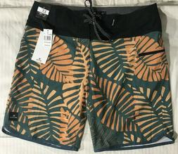 NWT Rip Curl Board Shorts 33 4-Way Stretch Mirage Made for W