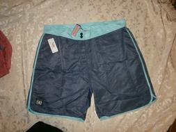nwt board shorts size 40 blue bathing