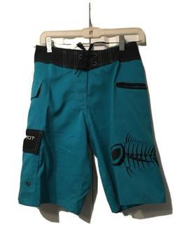 NWT Tormenter Fishing Waterman Board Swim Shorts 5 Pockets S