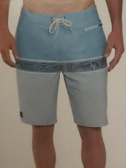 NWT! Jack O'Neill Collection Men's Board Light Blue Shorts S