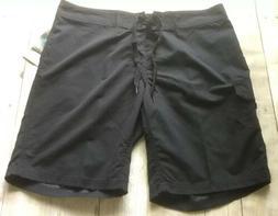 NWT ~ Kanu Surf Marina Women's Board Shorts Black ~ Size 10