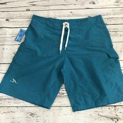 NWT Adoretex Men's Board Short Swimwear Blue Size 34