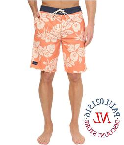 NWT Men's Jack O'Neill Collection Board-short ~ Red Floral ~