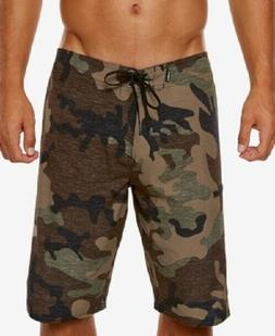 NWT Men's O'Neill Board Shorts Size 30 Camouflage Swim Trunk