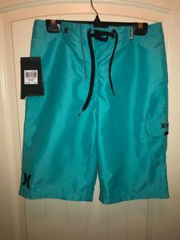 NWT Hurley Men's One And Only 22-Inch Boardshort, Hyper Jade