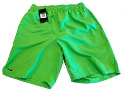 NWT NIKE Men's Volley Swim Trunks Board Shorts Green $48 Lar