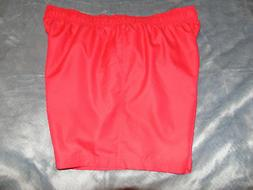 NWT mens FADED GLORY 3XL 48-50 RED Swim Suit Board Shorts