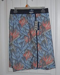 NWT Mens George 8 inch Silky Swim Trunks Board Shorts Inner