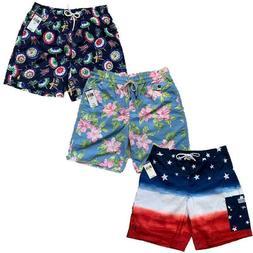 NWT Mens Polo Ralph Lauren Board shorts swim trunks  hawaiia