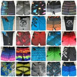 NWT Mens Hurley DC Volcom Boardshorts Swim Shorts Phantom 60