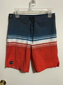 NWT O'Neill Capitol Board Shorts Mid-Length Swim Trunks SZ