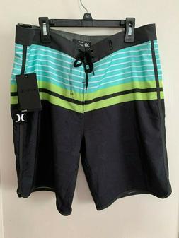 "NWT Hurley phantom  Mens Size 30 Length 19"" Board shorts A"