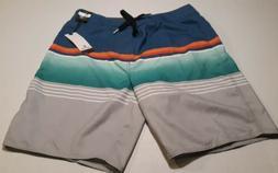 Nwt Rip Curl Shorts  Men's Boardshorts 32 blue green red ora