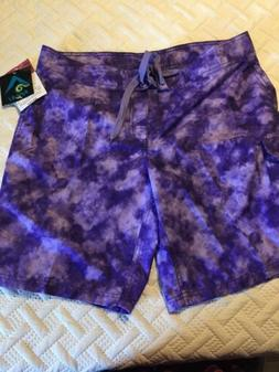 NWT Kanu Surf Size 10 Women's Board Shorts Sydney Purple