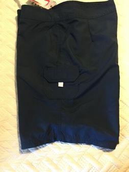 NWT Kanu Surf Size 14 Women's Board Shorts Navy Blue