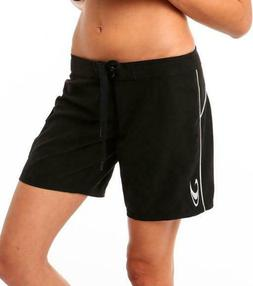 O'Neill Atlantic 7 inch Black Swimsuit Cover Up Board Shorts