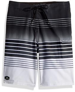 O'Neill Big Boys Hyperfreak Heist Boardshort, Black, 27