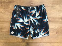 O'NEILL Birds Volley Cruzers Stretch Boardshorts Navy Floral