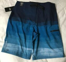 O'Neill Brisbane Boardshorts Full Length Blue Men's Size 3