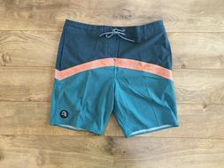 O'NEILL Cruzers Shorts Boardshorts Blue Orange SZ 32 NEW!