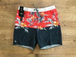 O'NEILL Deco Volley Cruzers Stretch Boardshorts Navy Floral