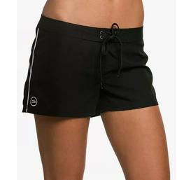 "O'Neill Juniors' Salt Water Solid 3"" Board Shorts Black Size"