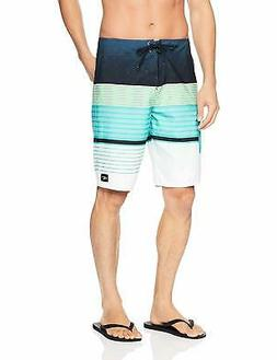 O'Neill Men's 21 in Outseam Ultrasuede Swim Boardshort, Turq
