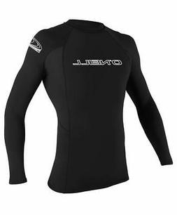 O'Neill Men's Basic Skins UPF 50+ Long Sleeve Rash Guard - C