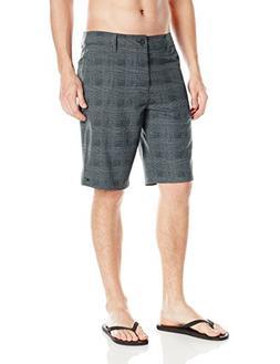 O'Neill Men's Insider Hybrid Boardshort, Asphalt Grey, 44